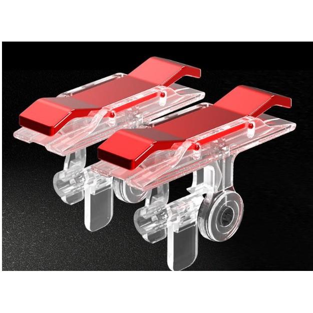 [ Bộ 2 Nút Bấm E9 Chơi Pubg Mobile, Ros Mobile Cực Nhạy - Phiên Bản Nút Cơ Cực Nhạy, Dễ Sử Dụng -dc3508