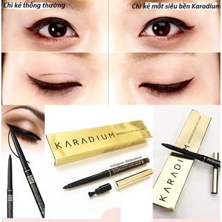 Bút chì kẻ mắt chống trôi Karadium Waterproof Eyeliner Pencil Black thumbnail
