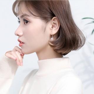 Hình ảnh [Mã FABR33 giảm 15% tối đa 50K đơn từ 150K] Bông tai bông tuyết xinh xắn cho nữ B2620 - Bảo Ngọc Jewelry-7