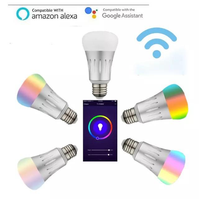 Bóng đèn thông minh Smart Life - Tuya 7W 16 triệu màu RGB - Điều khiển bằng giọng nói (tiếng Việt)