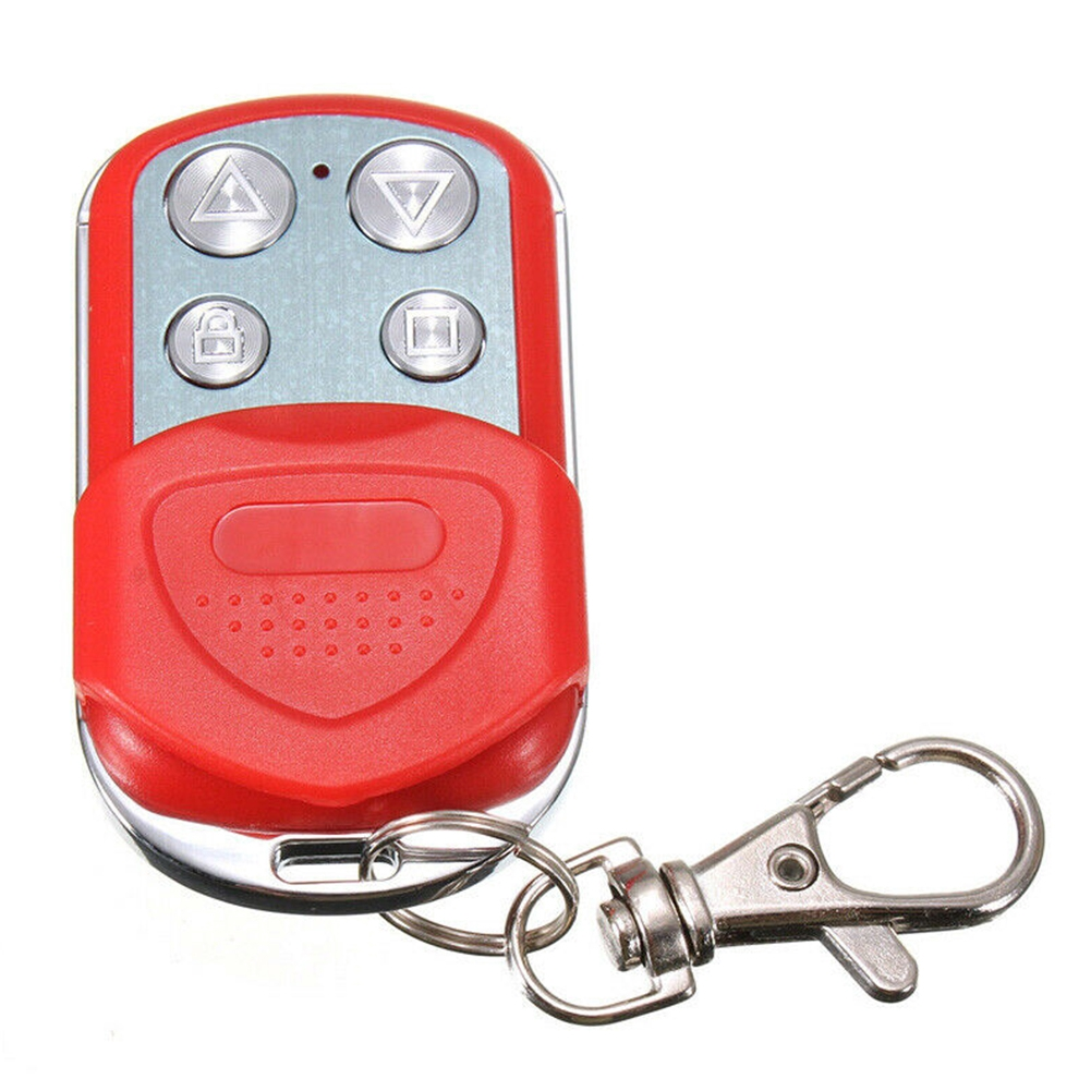 Wireless Electric Alarm Systems Plastic Battery Powered Portable Garage Door Remote Control Key