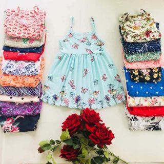 Freeship 99k toàn quốc_,Váy hai dây và váy cánh tiên cho bé gái