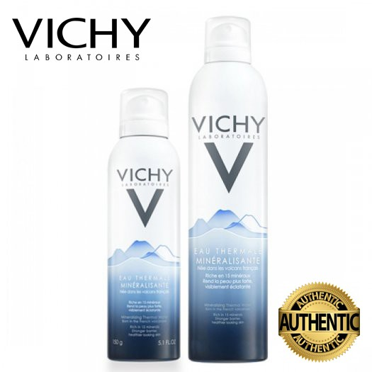 [CHÍNH HÃNG] Nước Khoáng Dưỡng Da Vichy Mineralizing Thermal Water 300ml_MSP3337871321963