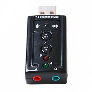 USB sound âm thanh 3D Taiwan 7.1 (Đen)