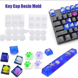 Khuôn Làm Keycap trong sáng tạo nghệ thuật Resin Handmade