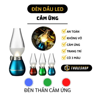 Đèn cầy bàn thờ – Đèn thần dầu thời cổ cảm ứng thổi hơi là sáng tắt tiện lợi, có nút điều chỉnh độ sáng 2304