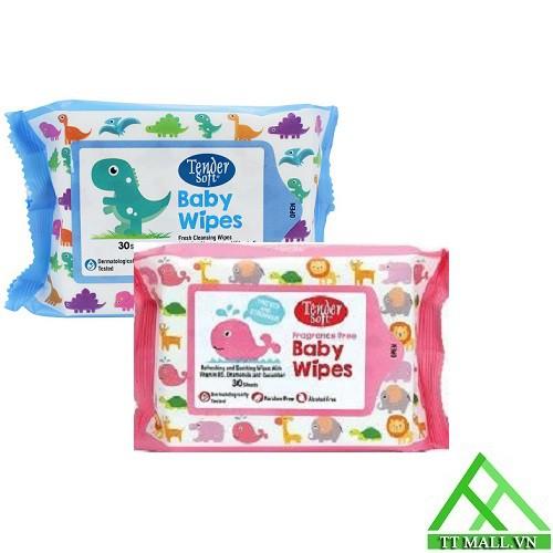 Khăn Giấy Ướt Cho Bé Tender Soft Baby Wipes - 30 tờ - 2516990 , 1252176531 , 322_1252176531 , 14000 , Khan-Giay-Uot-Cho-Be-Tender-Soft-Baby-Wipes-30-to-322_1252176531 , shopee.vn , Khăn Giấy Ướt Cho Bé Tender Soft Baby Wipes - 30 tờ