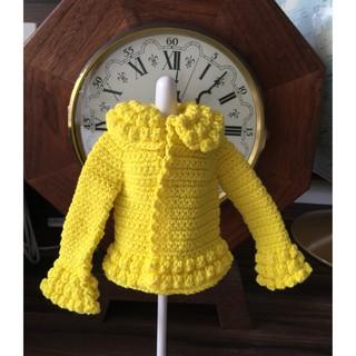 Áo khoác handmade cho búp bê-Áo xinh cho dolls-@bellascrochet_corner