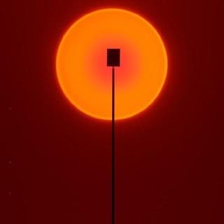 ☒☃Đèn chùm hoàng hôn Mạng đỏ sàn phòng khách ngủ chiếu sáng bầu không khí tạo nghệ thuật ánh ban đầu