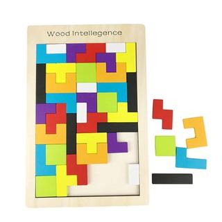 Lắp ráp bảng Tetris RB76 Đồ chơi gỗ đồ chơi giáo dục