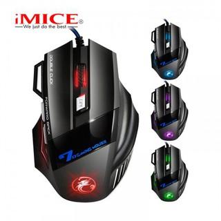 Mouse Gaming IMICE V9 Dây dù - Led 7 màu thumbnail