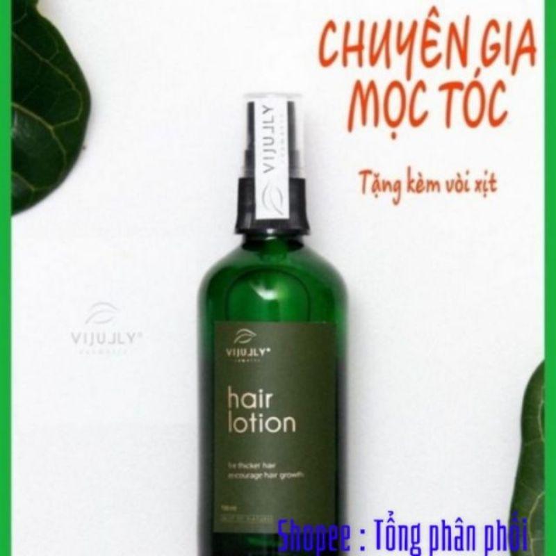 (Combo trị rụng tóc100%)Tinh dầu bưởi kích thích mọc tóc VIJULY