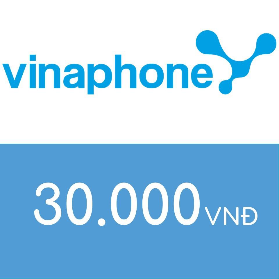 Nạp điện thoại Vinaphone 30K