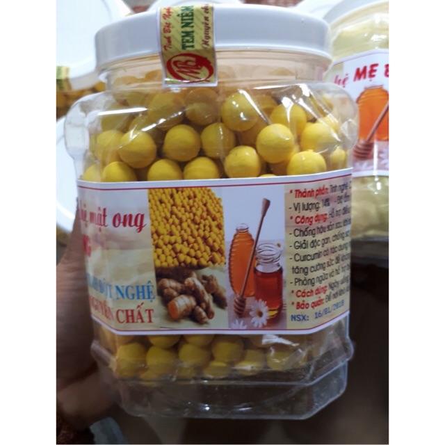 1 kg viên tinh bột nghệ mật ong