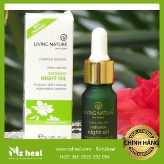 Dầu dưỡng sáng da Living Nature Radiance Night Oil 10ml thumbnail