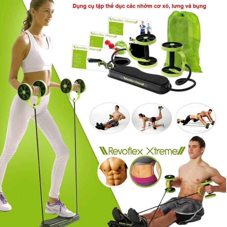 Chuyên sỉ dụng cụ tập thể dục đa năng Revoflex Xtreme