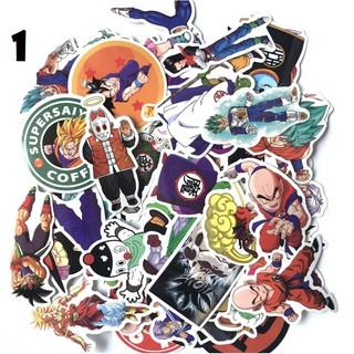 50 Seven Dragon Ball Sticker Anime Cartoon Sticker Xe hơi Laptop Xe máy thumbnail