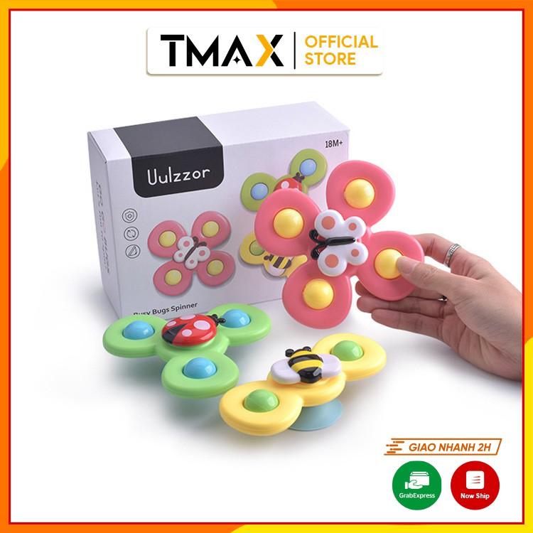 Đồ chơi nhà tắm con quay spinner chong chóng dính tường phù hợp cho bé từ 2 tuổi TMAX DC32