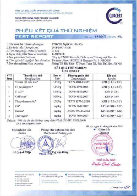Ngũ cốc giảm cân LINH SPA (mua 3tang nuoc hoa vùng kín trị giá 150k)