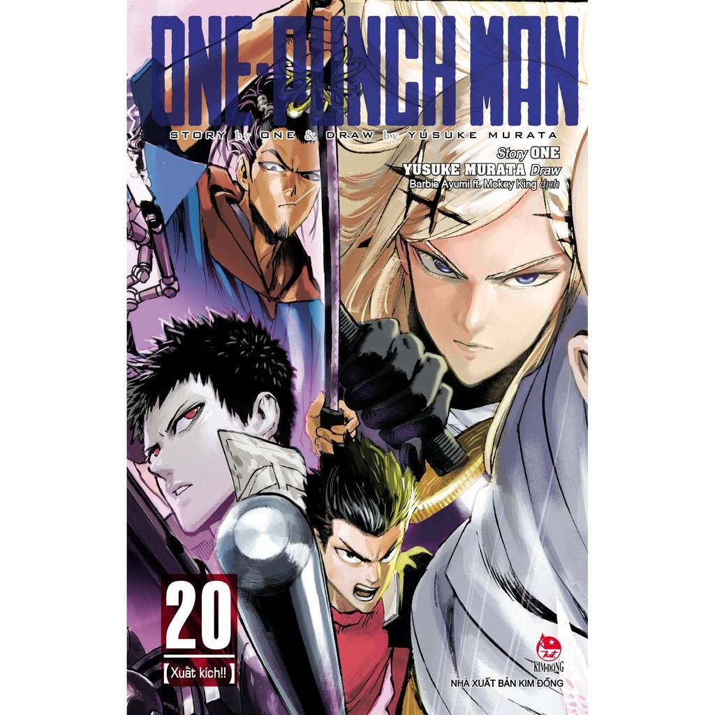 Sách - One-Punch Man - Tập 20 - Tặng Kèm Pos