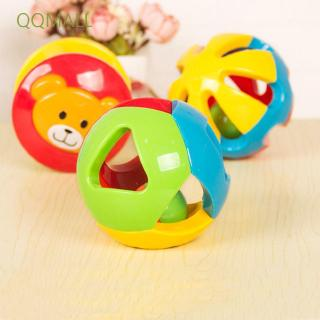 QQMALL Colorful Baby Learning Hand Shake Educational Toy Baby Rattle