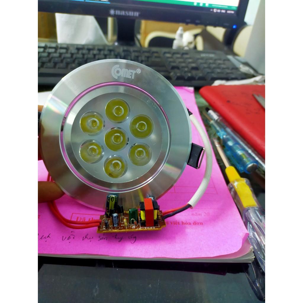 Đèn LED âm trần mắt trâu COB, mắt ếch xoay góc 7w,9w Bảo Hành 1 năm