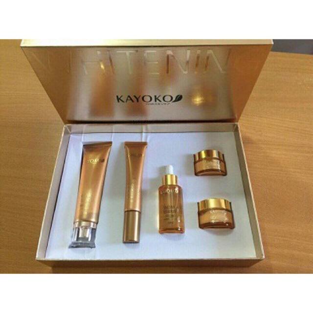 Bộ mỹ phẩm KAYOKO Gold Plus (5in1) New cao cấp, đặc trị nám tàn nhang và làm trắng da - 3457409 , 958626019 , 322_958626019 , 740000 , Bo-my-pham-KAYOKO-Gold-Plus-5in1-New-cao-cap-dac-tri-nam-tan-nhang-va-lam-trang-da-322_958626019 , shopee.vn , Bộ mỹ phẩm KAYOKO Gold Plus (5in1) New cao cấp, đặc trị nám tàn nhang và làm trắng da