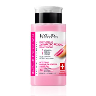 Nước tẩy sơn móng tay & dưỡng móng Eveline Nail Therapy 75ml