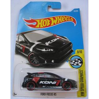 Xe mô hình Hot Wheels '16 Ford Focus RS DVB62