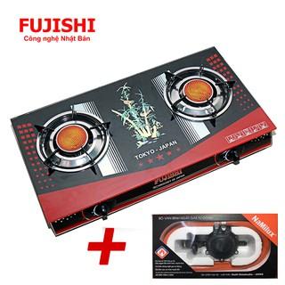 Combo Bếp gas hồng ngoại Fujishi FM-H790 + Bộ dây van ngắt gas tự động Namilux