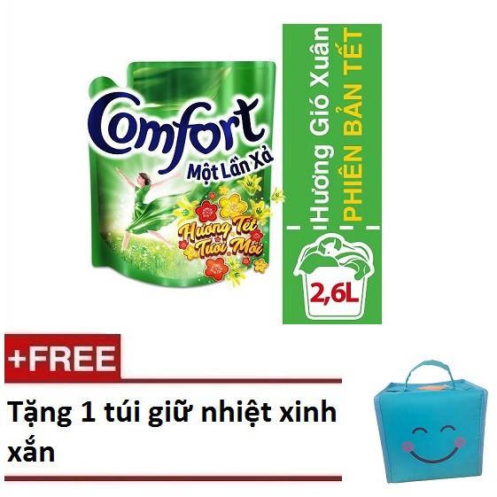 [Quà] Mua 1 túi comfort một lần xả hương Gió xuân 2.6L phiên bản tết ( MSP 67145281)+ Tặng 1 túi giữ