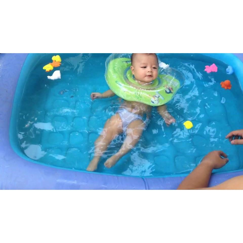 Phao Tập Bơi Đỡ Cổ Chống Lật An Toàn Cho Bé