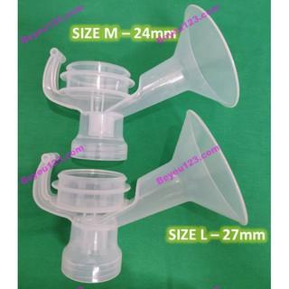 (Chính hãng) 1 Phễu nhựa cứng Unimom - Phụ kiện máy hút sữa điện và tay ( Mezzo, K-Pop, Forte, Allegro, Minuet)