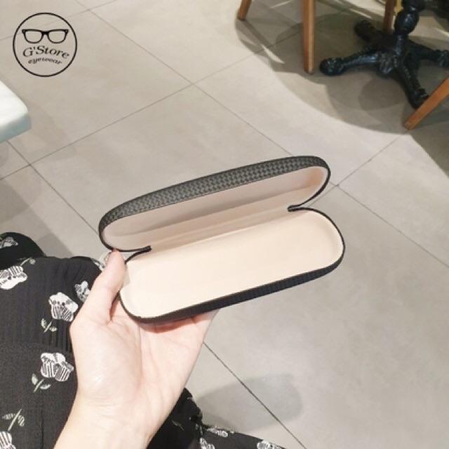 Hộp đựng kính cận bằng da xịn, tặng kèm khi mua kính cao cấp - Tiệm kính Shop 💝💖