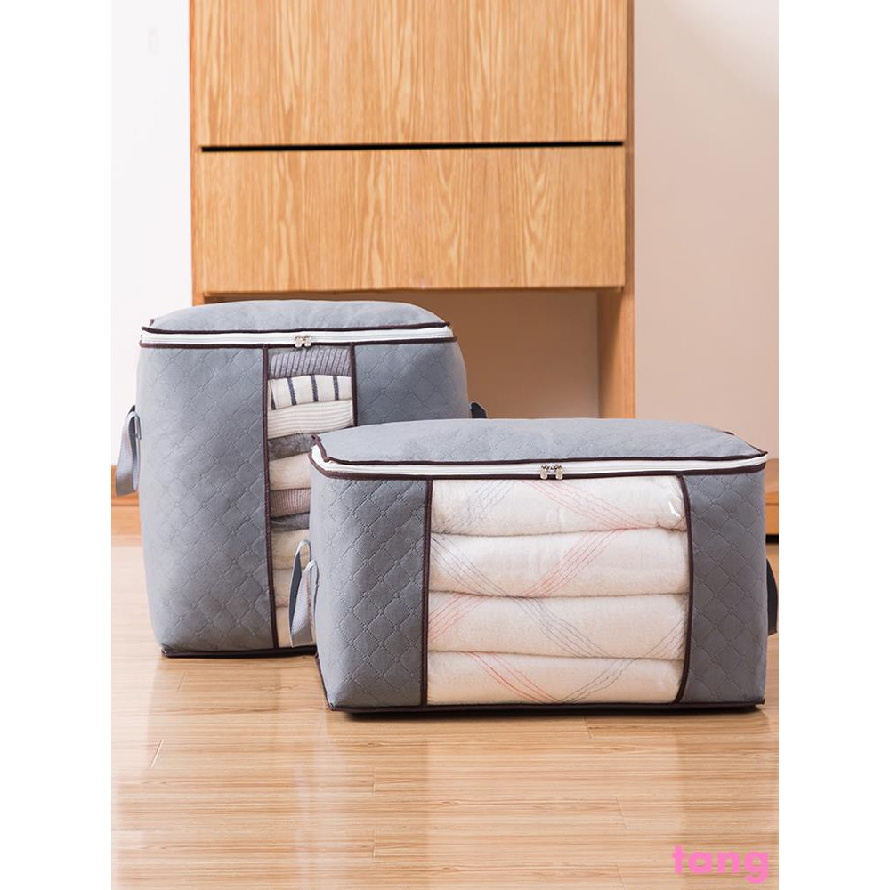 clothes storage finishing bag quilt clothes packing moving Oracle moist