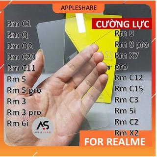 Kính cường lực Realme 8 8 pro 5 5 pro 3 3 pro C11 C12 C15 C20 C1 Q Q2 6i X7 pro C3 5i C2 X2 C3i trong suốt thumbnail