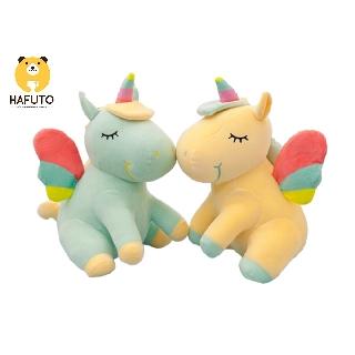 Thú bông kì lân unicorn HAFUTO size 50cm siêu đáng yêu