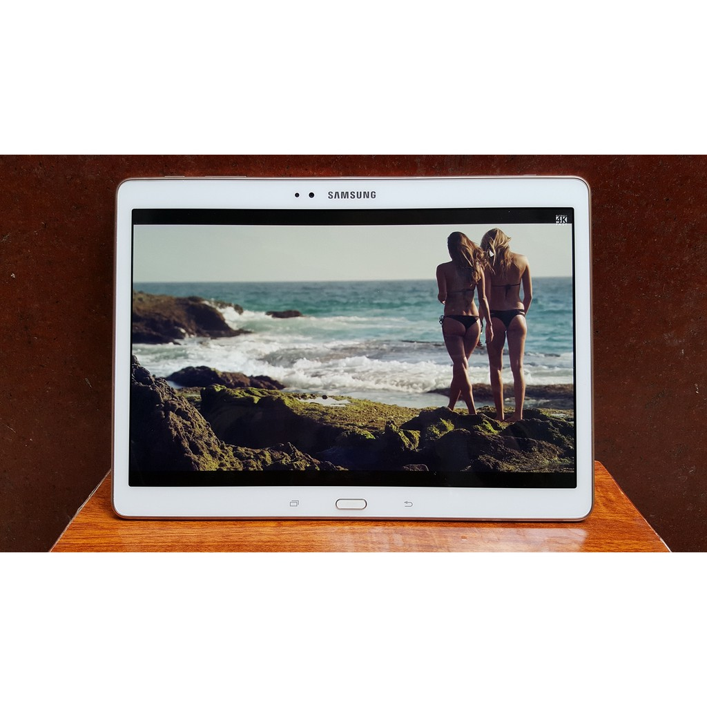 "Máy tính bảng Samsung Galaxy Tab S 10.5"" QuadHD (2K) - Ram 3GB/ Vân tay bảo mật"