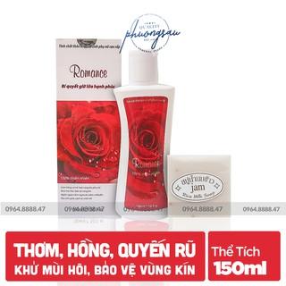 [QUÀ TẶNG HẤP DẪN] Dung Dịch Vệ Sinh Phụ Nữ Cao Cấp Romance, Chính hãng, Sạch Thơm, Quyến Rũ thumbnail