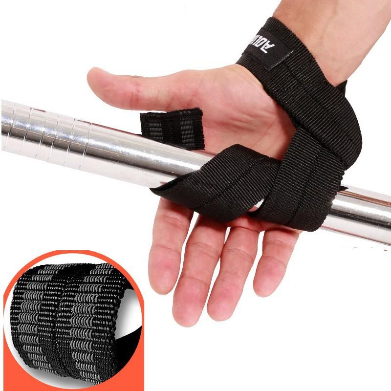 Dây đai bảo vệ cổ tay nâng tạ, (Bộ 2 đai), Ma sát tốt, chống trơn trượt chất liệu cao cấp