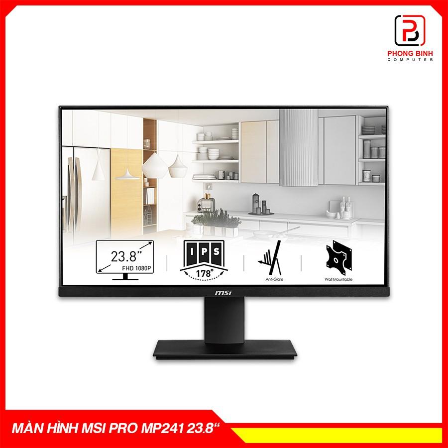 Màn hình máy tính MSI Pro MP241 23.8inch FullHD - Chính hãng