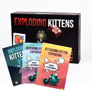 Combo Mèo Nổ Tung Thế Giới – Mèo nổ + 3 Bản mở rộng (18+)