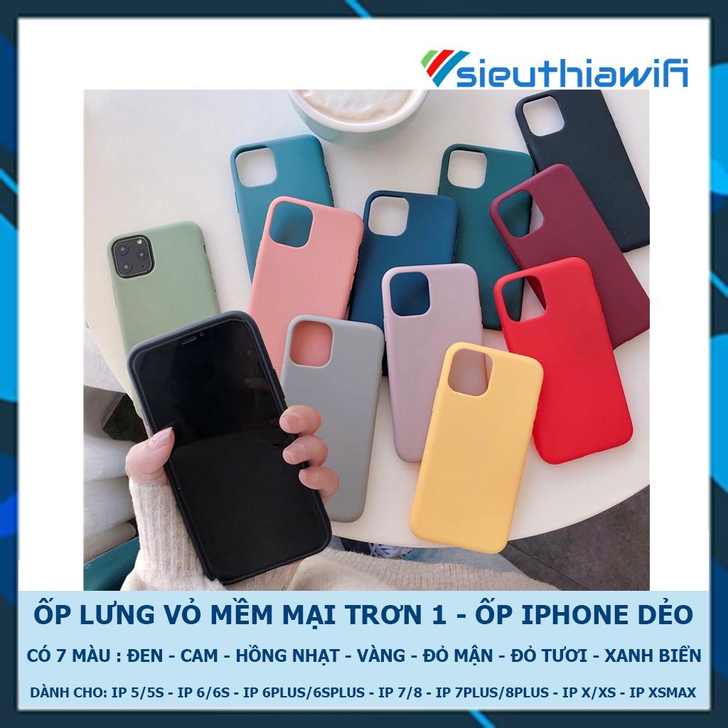 Ốp lưng iphone mềm mại 1 5/5s/6/6plus/6s/6splus/7/7plus/8/8plus/x/xr/xs/11/12/pro/max/plus/promax - Awifi Case