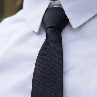 Cà vạt nam thắt sẵn 5cm vải lụa xéo đẹp sang trọng phù hợp công sở