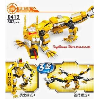 Lego Lắp Ráp Rồng Hoàng Gia Feizhi 0413 – Imperial Pterosaur ( 302 Mảnh )