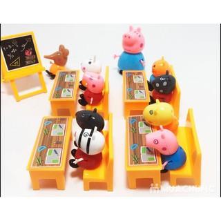 Bộ lớp học và bàn ghế Peppa