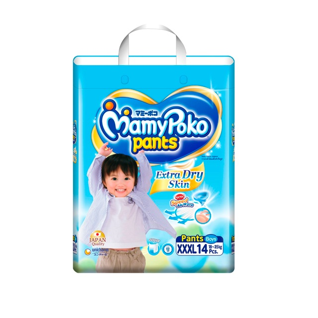 Tã quần Mamypoko 14 miếng cho bé trai và gái