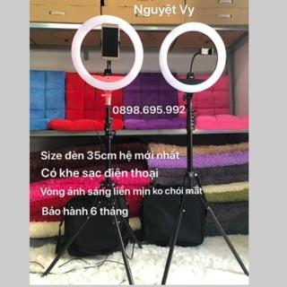 Đèn make up, cây đèn livestream, phun xăm, chụp hình, spa, hỗ trợ bán hàng size đèn 35cm mẫu mới nhất