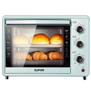 Lò nướng điện gia dụng Supor dung tích lớn 30L đa năng bánh mì mini chức thumbnail