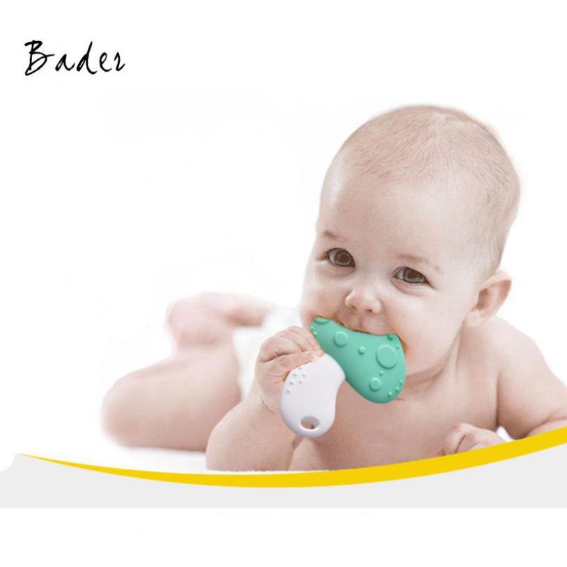 Bader Silicone đồ chơi trẻ mol em của nấm